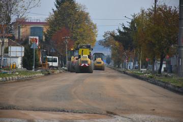 large construction machines