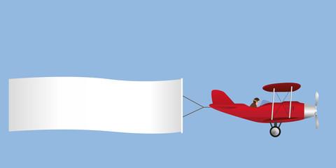 avion - banderole - message - publicité - humour - publicitaire - pub - carte - pancarte - humoristique