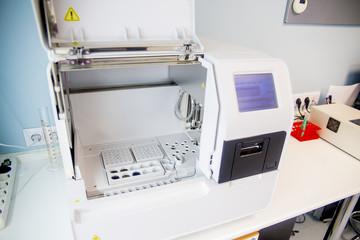 Laboratory in a clinic
