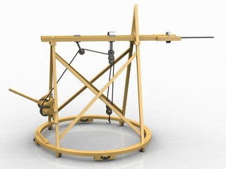Workshop Crane, Leonardo da Vinci, Codex Atlanticus/0808r