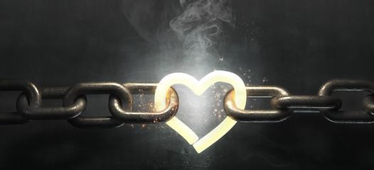 3d steel chain