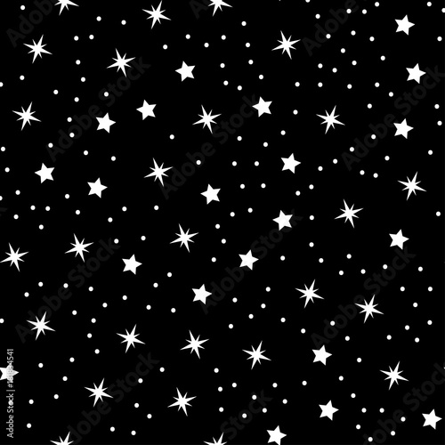 Abstract Seamless Baby Star Pattern For Girls Boys Clothes Sportswear Creative Vector