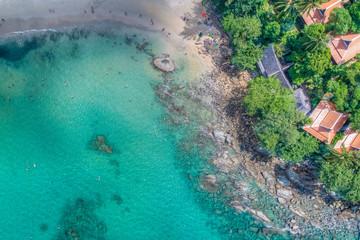 tropical coastline