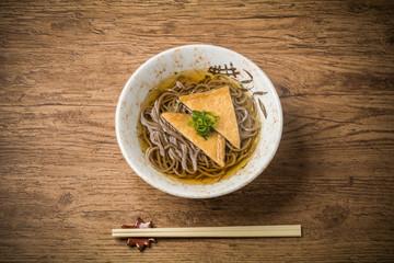 Japanese noodles(soba)