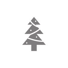 Christmas pine tree icon. Web element. Premium quality graphic design. Signs symbols collection, simple icon for websites, web design, mobile app, info graphics