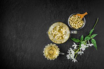 ジャスミンティー Beautiful jasmine tea