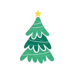 tree christmas logo