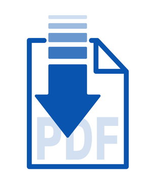 isolated blue arrow icon button with white paper background for transfer,upload and download applications service data and other,easy technology global system on cloud,complete file for download