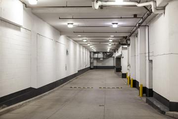 Parking Garage driveway
