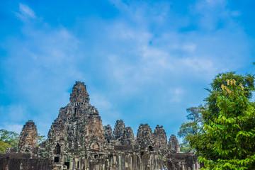 Cambodia ancient castle