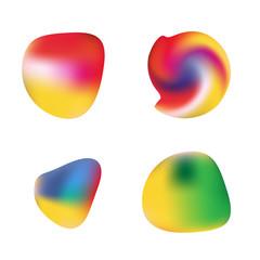 Colorful Gradient Orbs, Illustrations Set