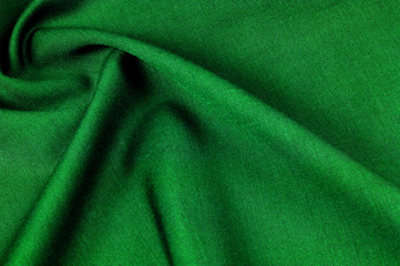 Background texture, pattern. cloth wool flannel green. Inspired by ancient outer flannels, this fabric has a strong appearance, balanced by a sense of supercompatibility.