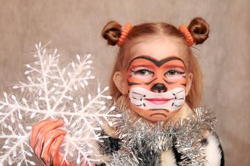 Gigl with christmas snowflake