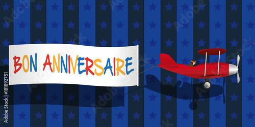 Anniversaire Fête Message Invitation Carte De Vœux Bon