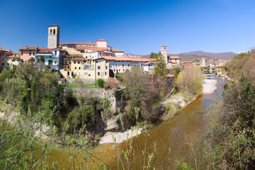 UNESCO Site of Cividale del Friuli: view of the old town and the Natisone River