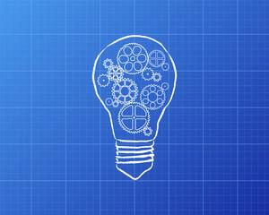Light Bulb Gears Blueprint