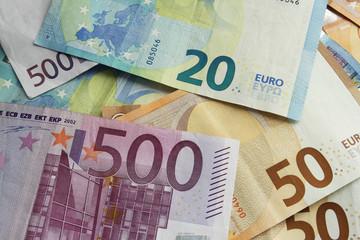 Euro Geldscheine Sparen
