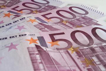 Euro 500 Geldscheine Sparen