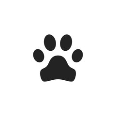 Animal Track Icon Vector Isolated
