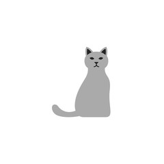 Cat Icon Vector Isolated