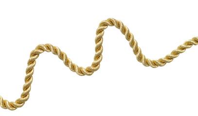 Golden shiny rope.