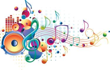 Bright sound - decorative music design