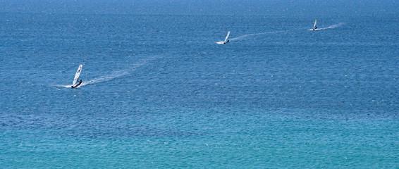 Windsurf a Terrasini, Sicilia