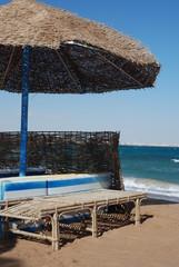 Beach resort near the sea