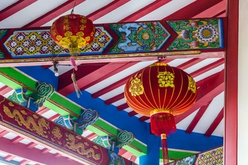 Chinese temple in Semarang Indonesia