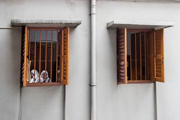 Nuns at work in Kolkata, India