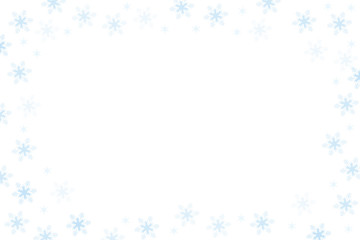 Fototapeta białe tło ze śniegiem