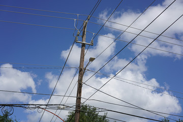 Power Lines in the City