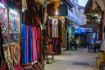 View of market, Old city, Jerusalem, Israel