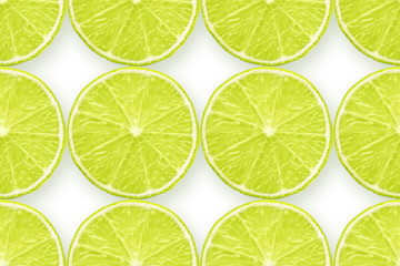 lime on white pattern
