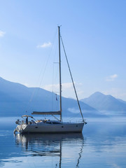Sea landscape in Montenegro