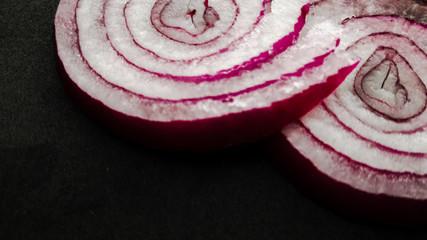 Anelli di cipolla rossa