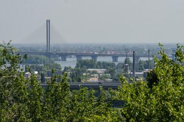 Bridge over Dnipro in Kiev