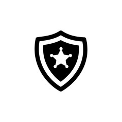police badge icon. Police element icon. Premium quality graphic design. Signs, outline symbols collection icon for websites, web design, mobile app, info graphics