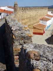 Galisteo villa amurallada en Caceres( Extremadura, España)
