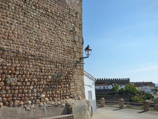 Galisteo, pueblo historico de Cáceres,  (Extremadura, España)  entre las ciudades de Plasencia y Coria