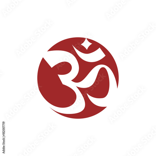 Karma Symbol In Circle Stock Image And Royalty Free Vector Files On