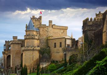 Castle of Olite.  Spain