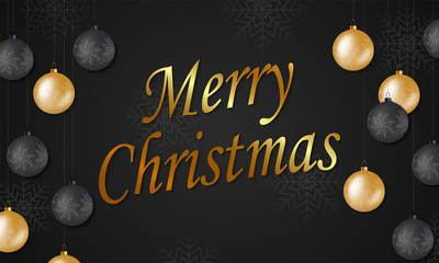 Christmas background for holiday greeting card