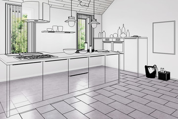 New kitchen (plan)