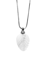 Pearl pendant isolated