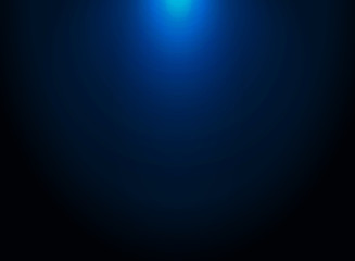 Dark blue gradient vector modern elegant with lighting on top of background.