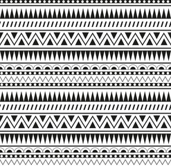 seamless pattern Aztecs