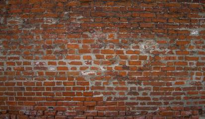 Texture of a brick wall, grunge art