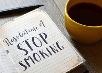 Resolution No. 1 STOP SMOKING
