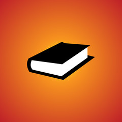 book icon. isolated sign